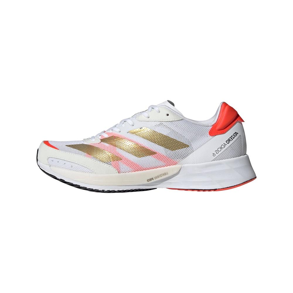 Adidas Adizero Adios 6 Joggesko Dame Hvit