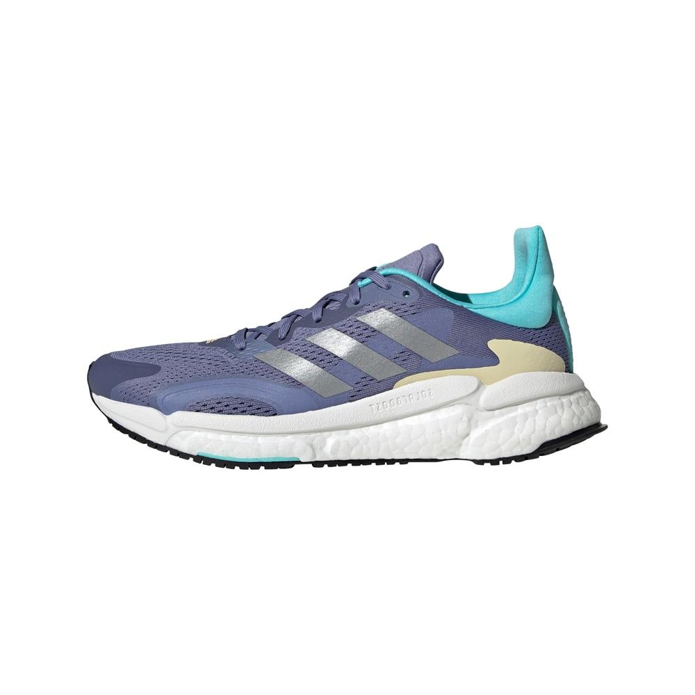 Adidas Solar Boost 3 Joggesko Dame Blå