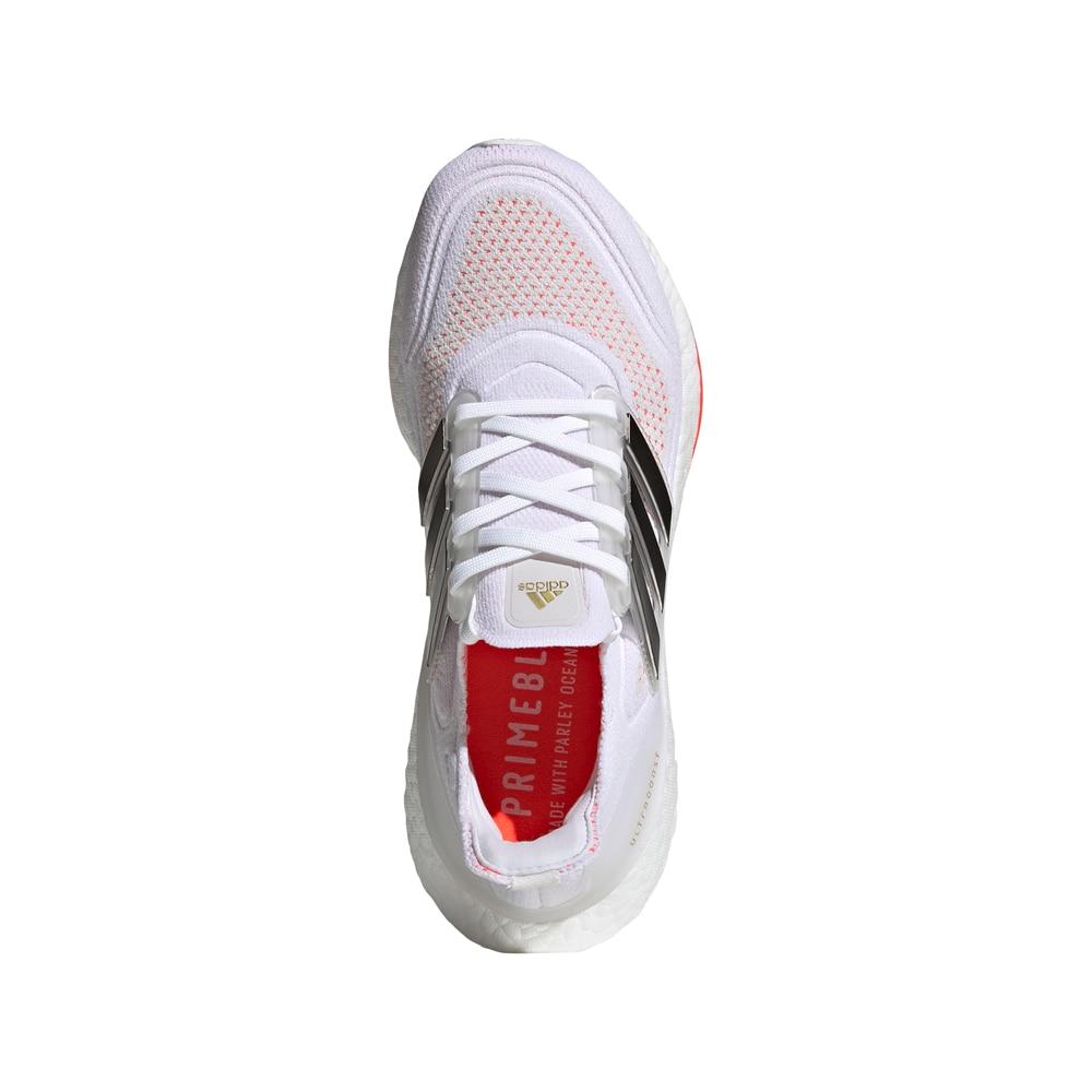 Adidas UltraBoost 21 Joggesko Dame Hvit/Oransje