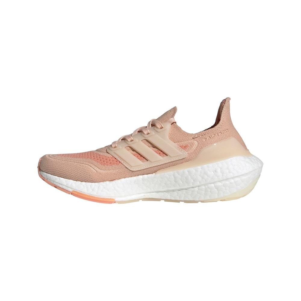 Adidas UltraBoost 21 Joggesko Dame Beige