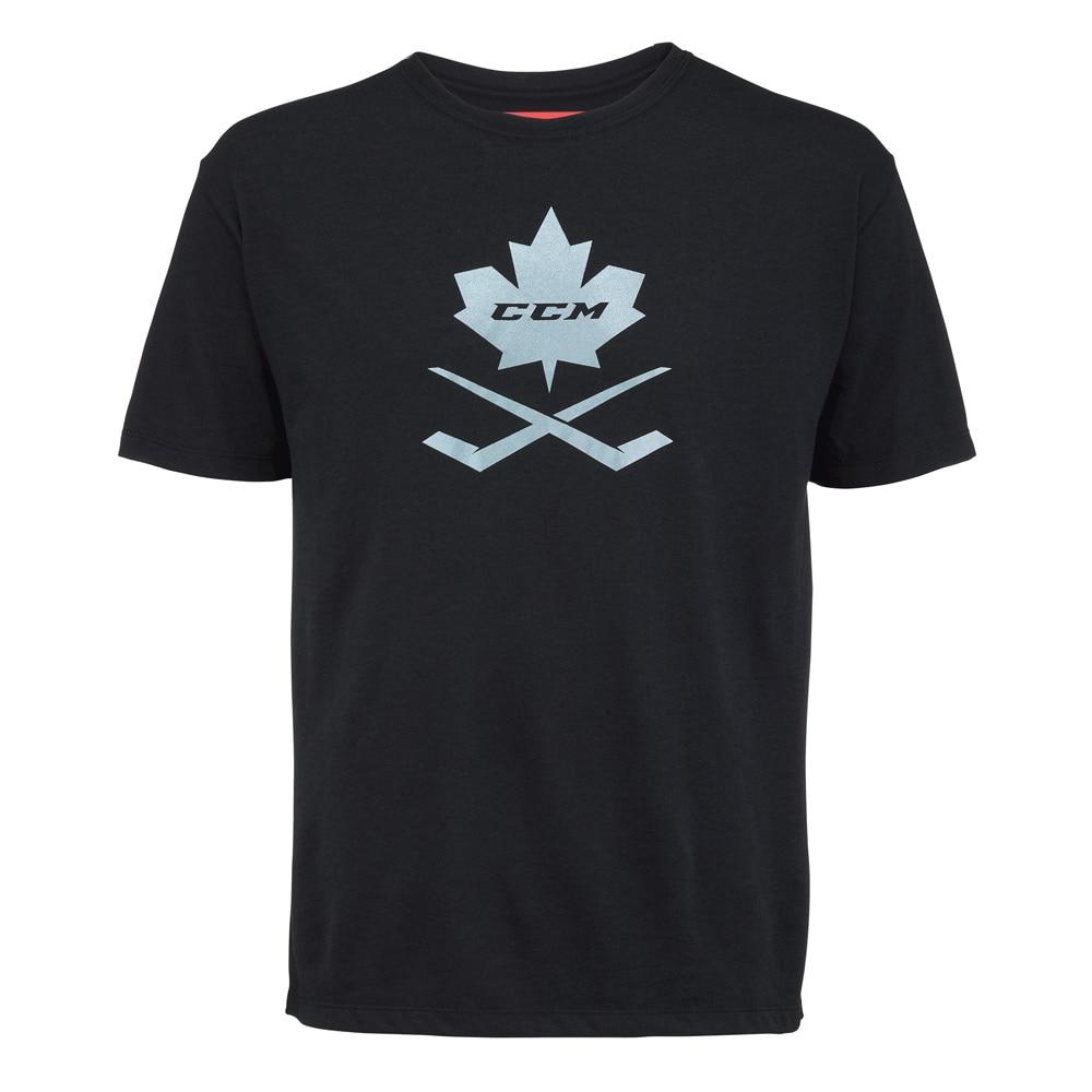 Ccm Blackout Leaf T-skjorte