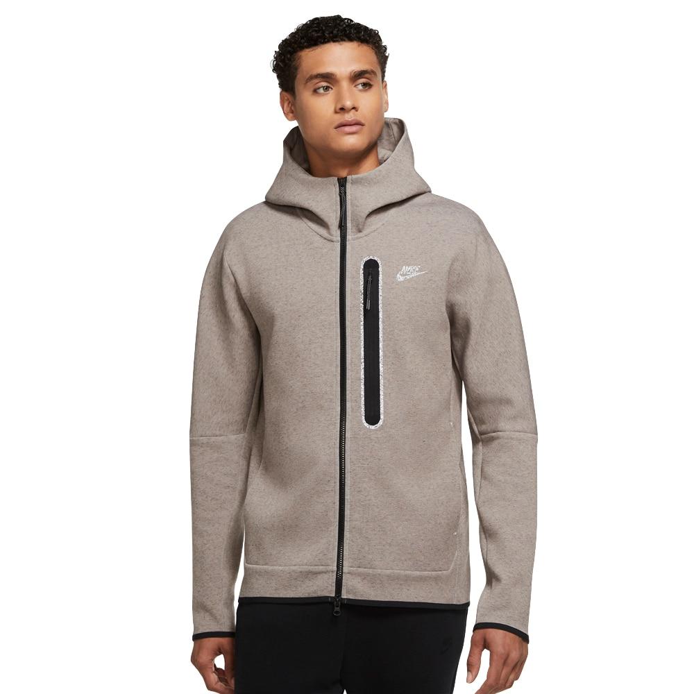 Nike Tech Fleece Revival Hoodie Hettegenser Grå