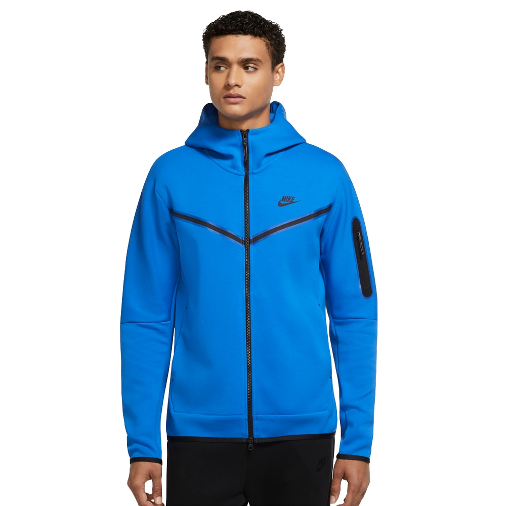 Nike Tech Fleece FullZip Hettegenser Blå