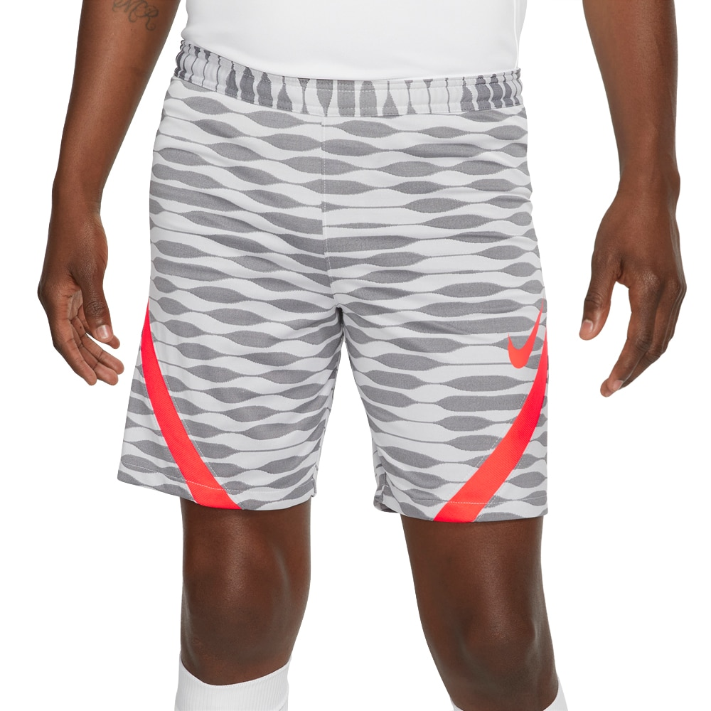 Nike Dry Strike 21 Treningsshorts Hvit/Oransje