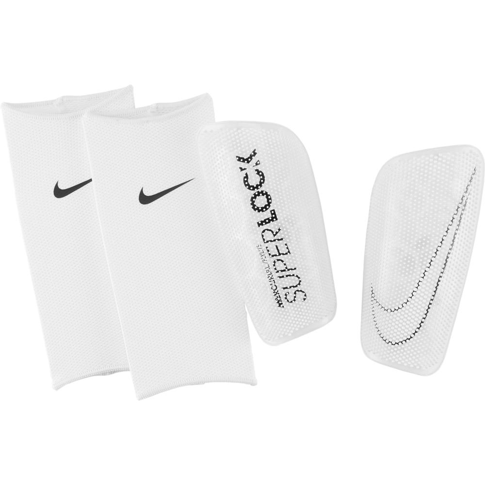 Nike Mercurial SuperLock FlyLite Leggskinn Hvit/Sort