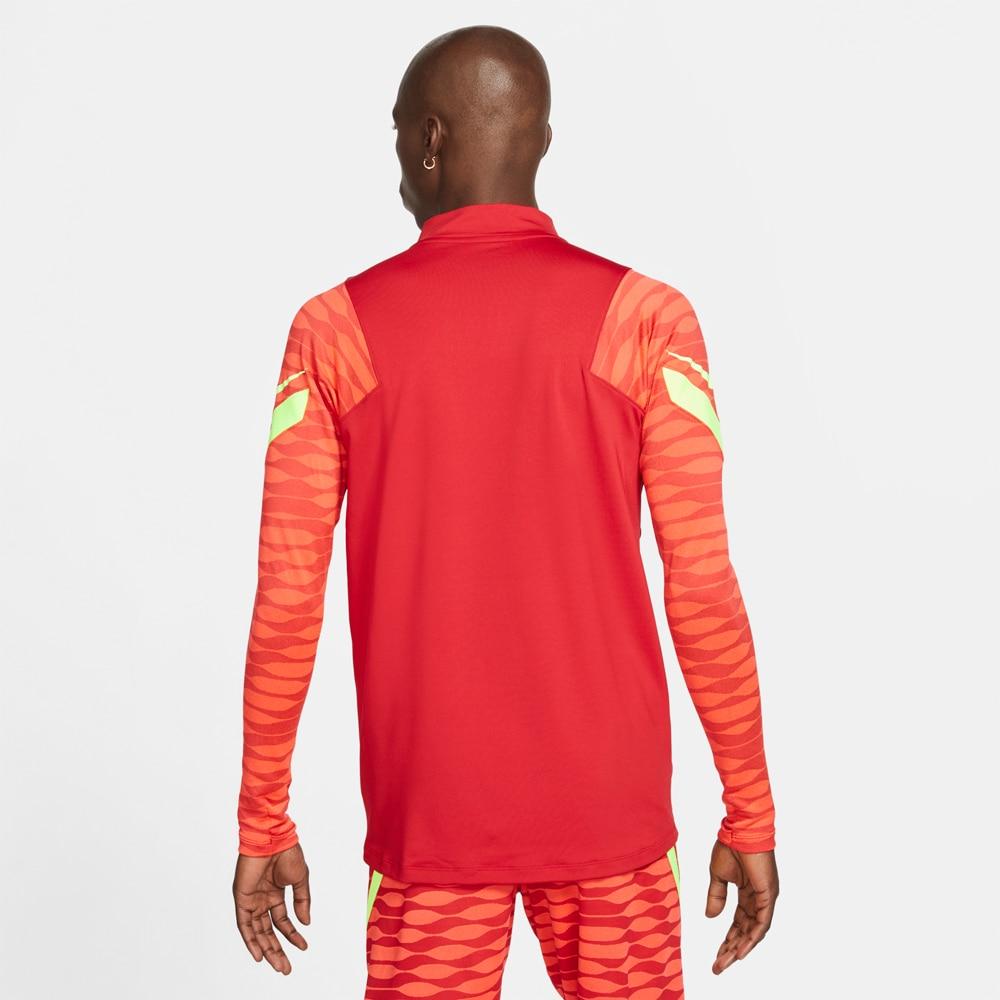 Nike Dry Strike 21 Drill Fotballgenser Rød/Volt