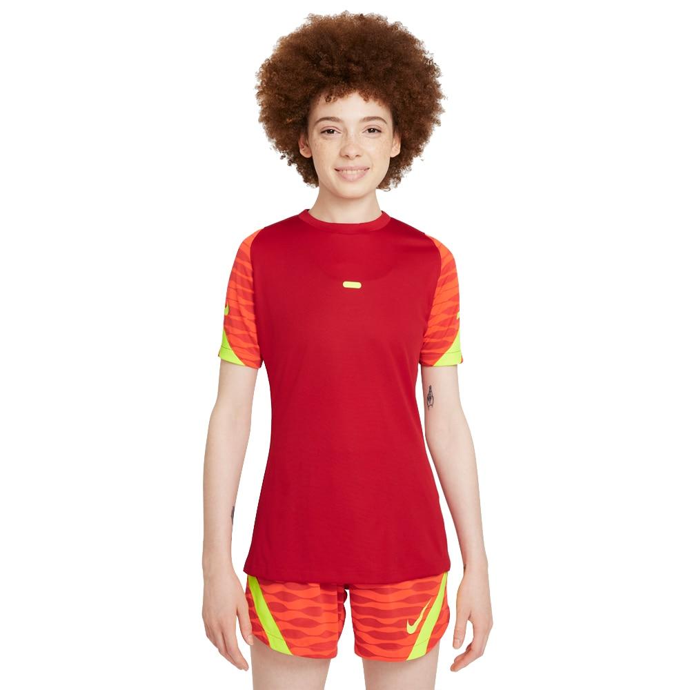 Nike Dry Strike 21 Treningstrøye Dame Rød/Volt