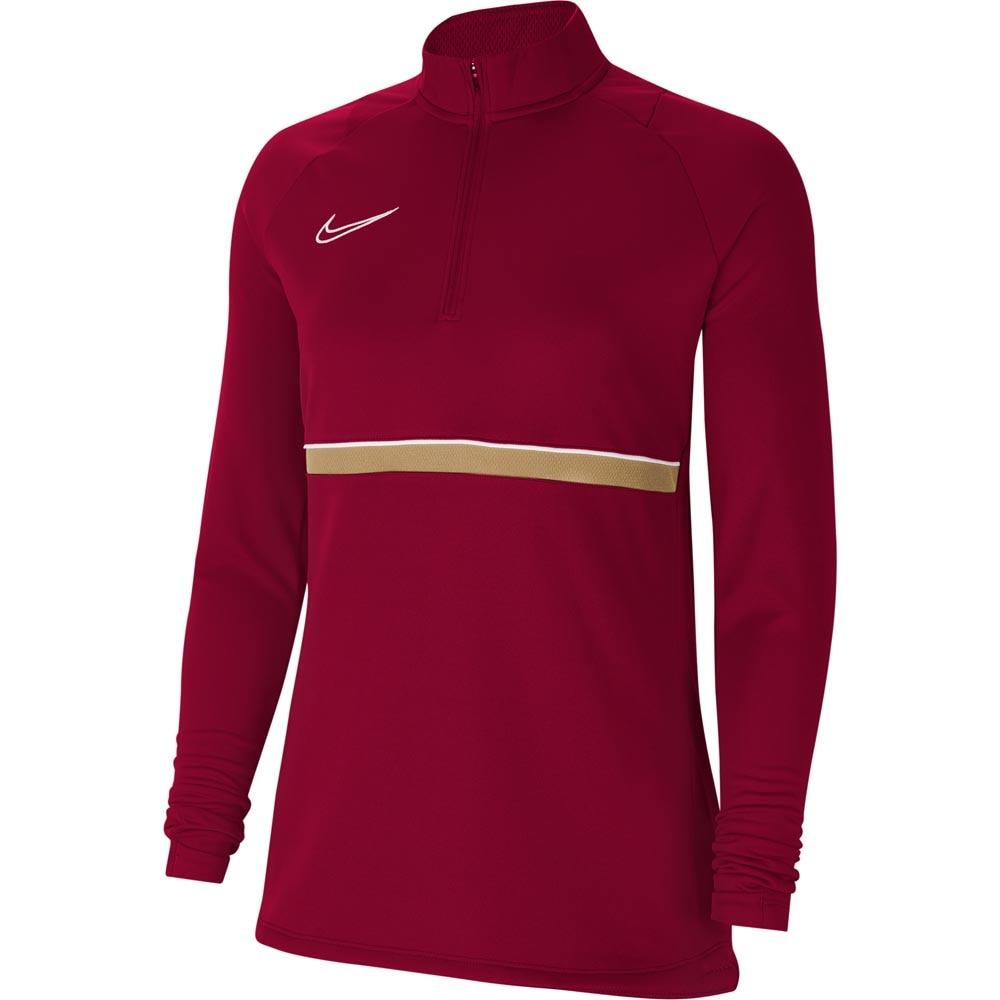 Nike Academy 21 Treningsgenser Dame Burgunder