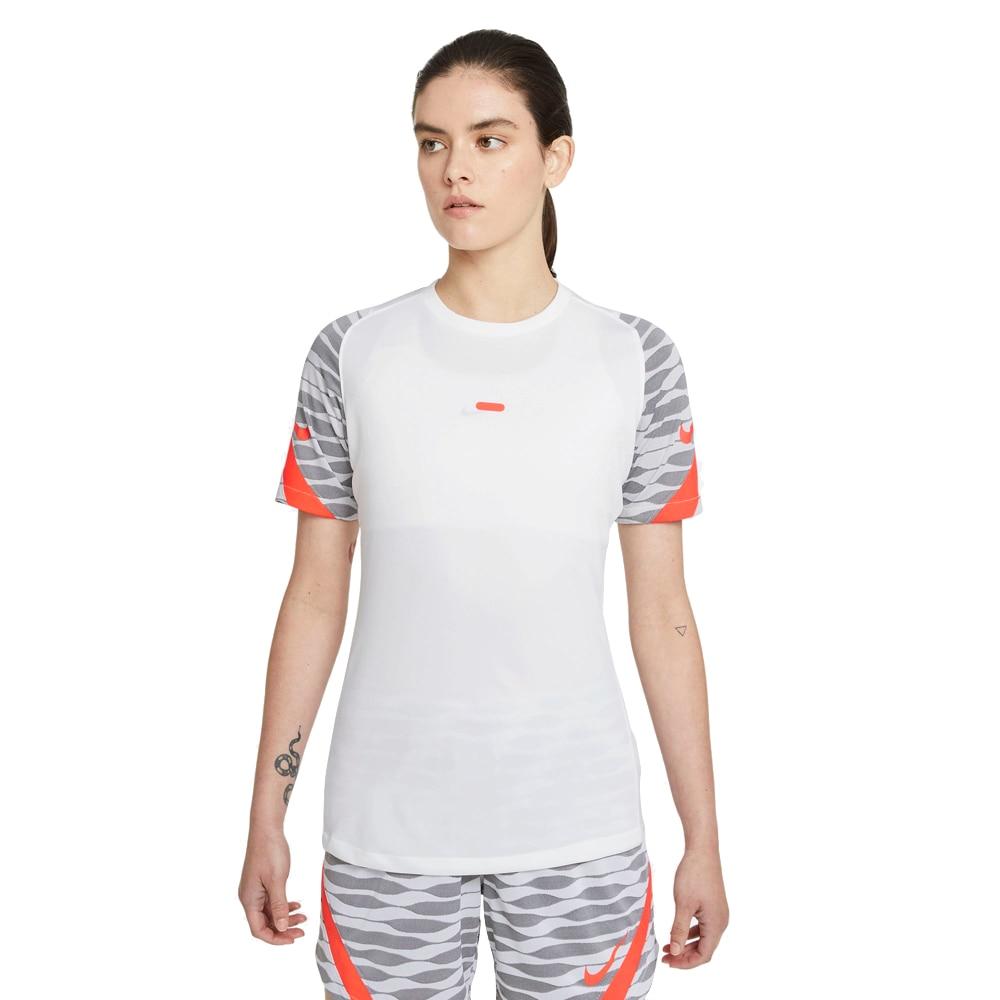 Nike Dry Strike 21 Treningstrøye Dame Hvit/Oransje