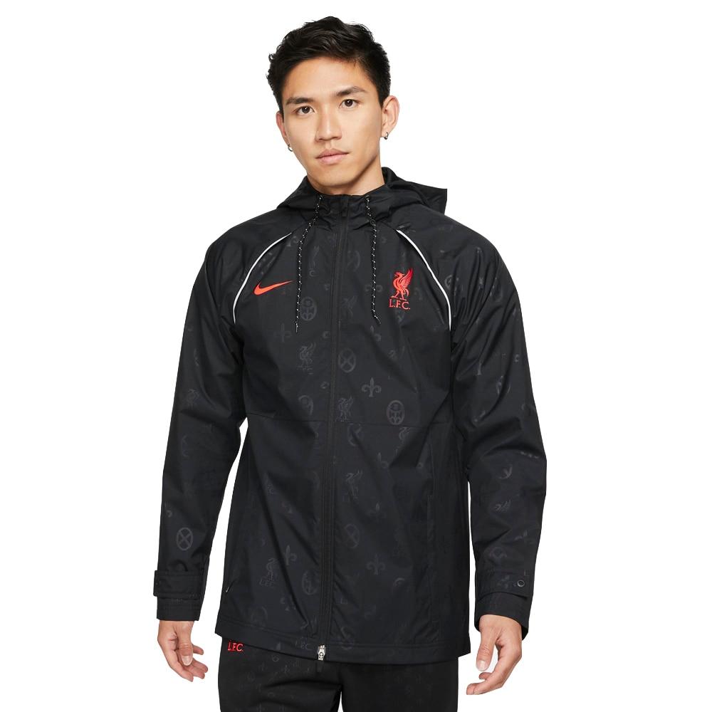 Nike Liverpool FC AWF Fritidsjakke 21/22 Sort