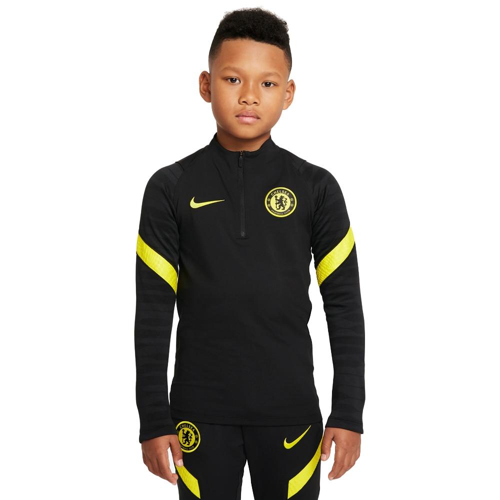 Nike Chelsea FC Treningsgenser 21/22 Barn Sort