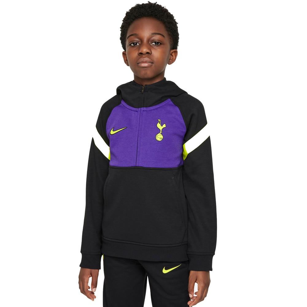 Nike Tottenham Travel Fritidsgenser 21/22 Barn Sort