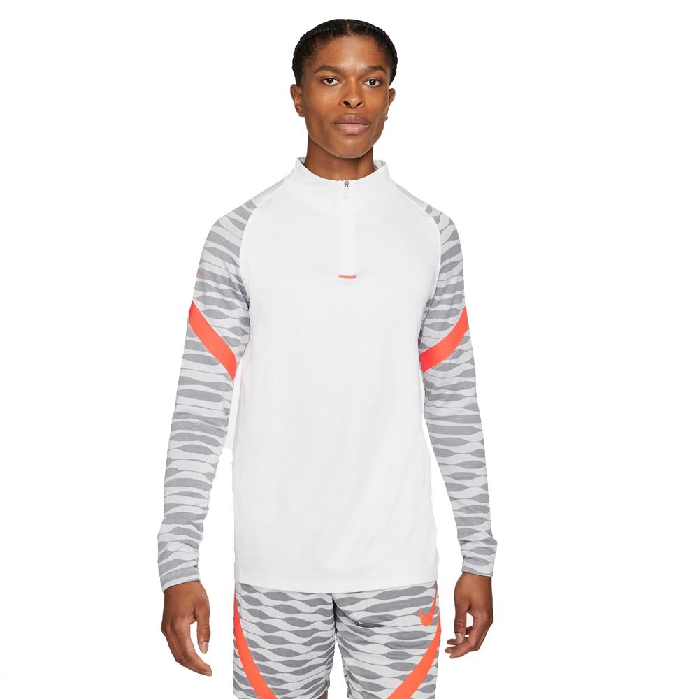 Nike Dry Strike 21 Drill Fotballgenser Hvit/Oransje