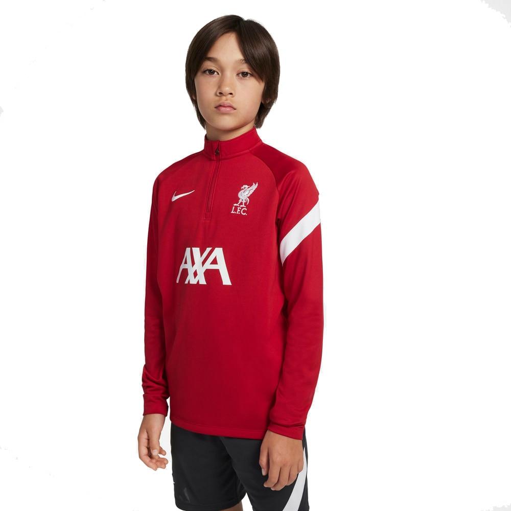Nike Liverpool FC Academy Treningsgenser 21/22 Barn Rød