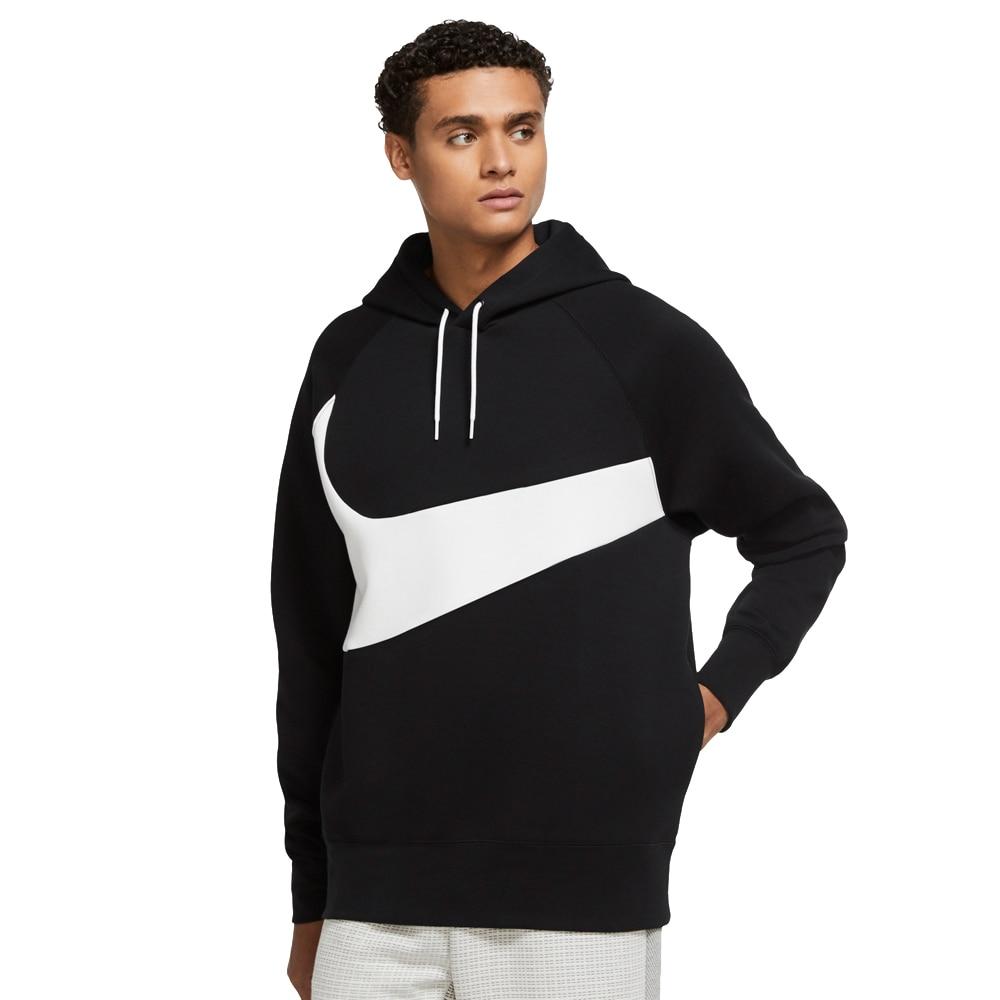 Nike Tech Fleece Swoosh Hoodie Hettegenser Sort