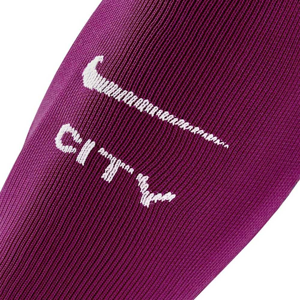 Nike Manchester City Fotballstrømper 17/18 Borte