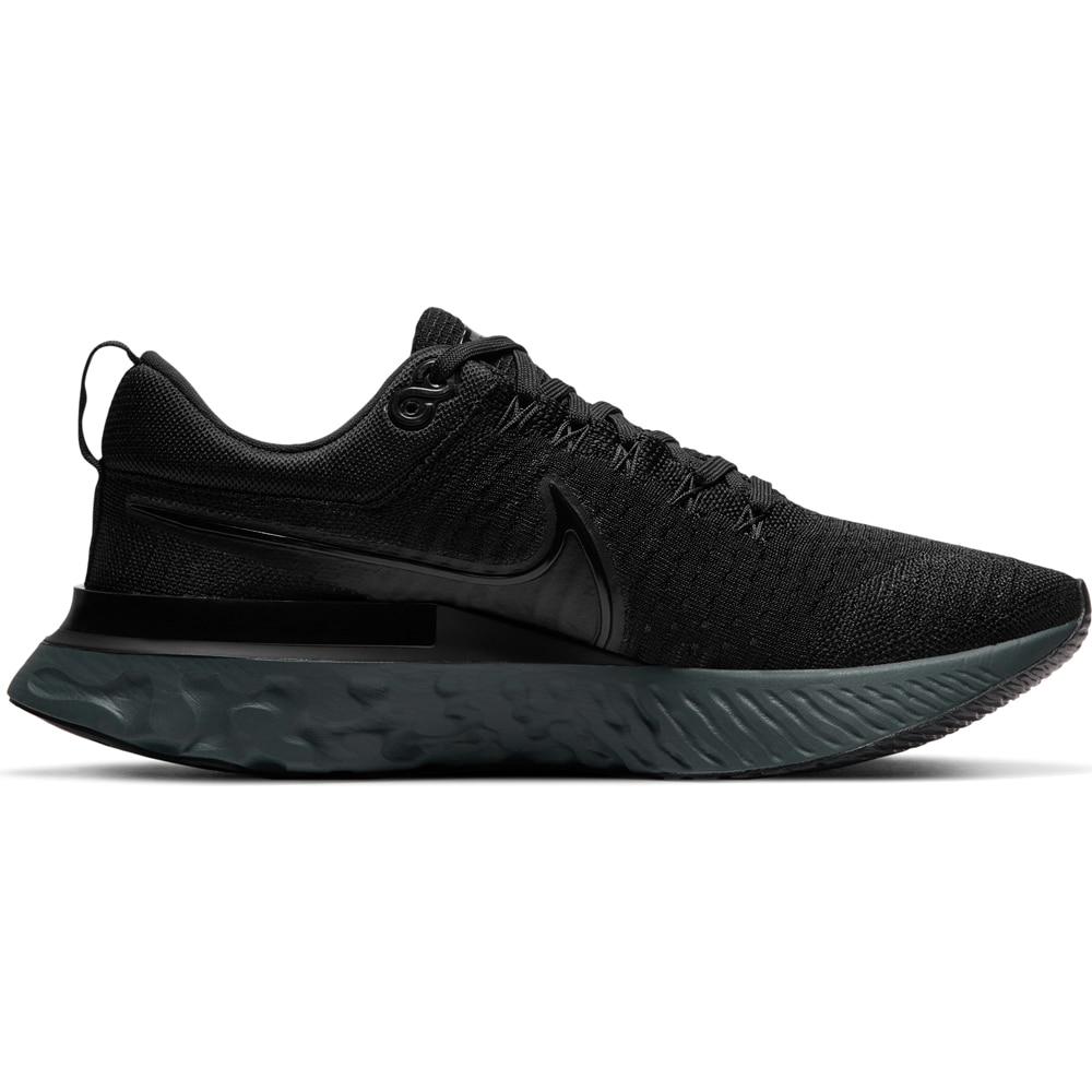 Nike React Infinity Run Flyknit 2 Joggesko Herre Sort/Sort