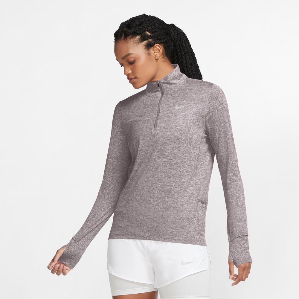 Nike Element Half-Zip Løpetrøye Grå Dame