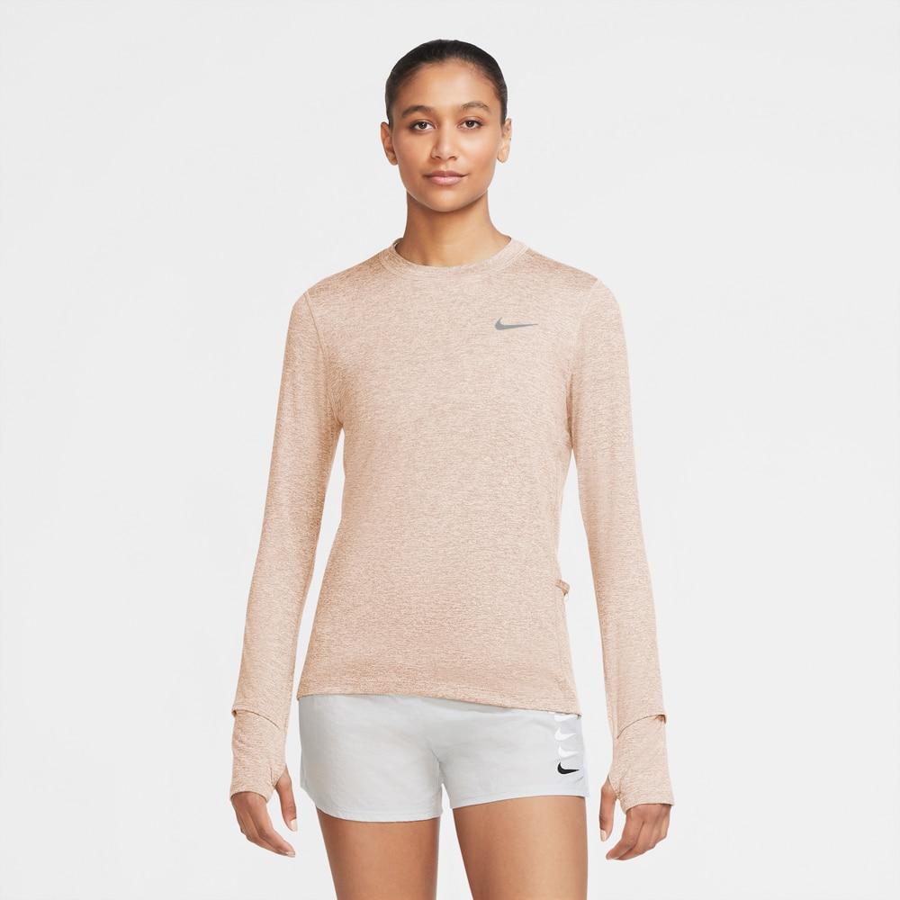 Nike Element Crew Treningstrøye Dame Beige
