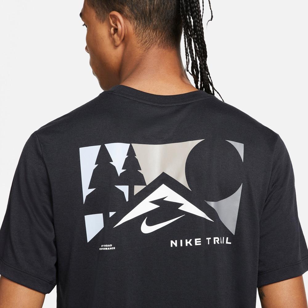 Nike Dri-Fit Trail T-Skjorte Herre Sort