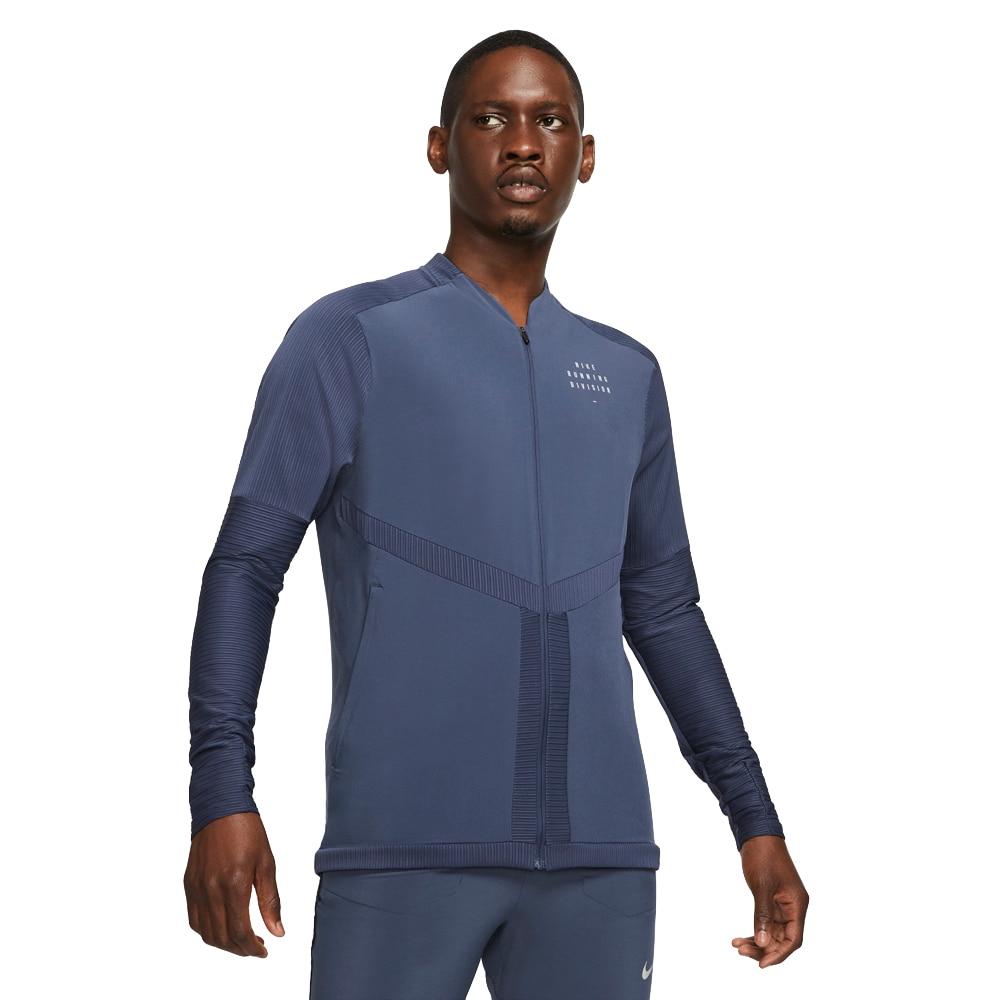 Nike Run Division Element Treningsjakke Herre Blå
