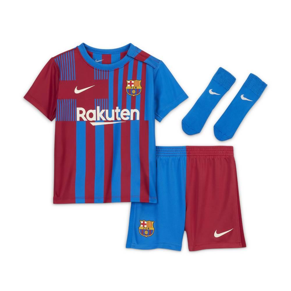 Nike FC Barcelona Draktsett 21/22 Hjemme Baby