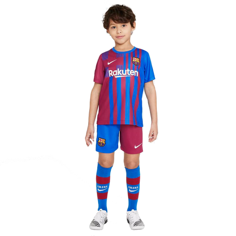 Nike FC Barcelona Draktsett 21/22 Hjemme Barn