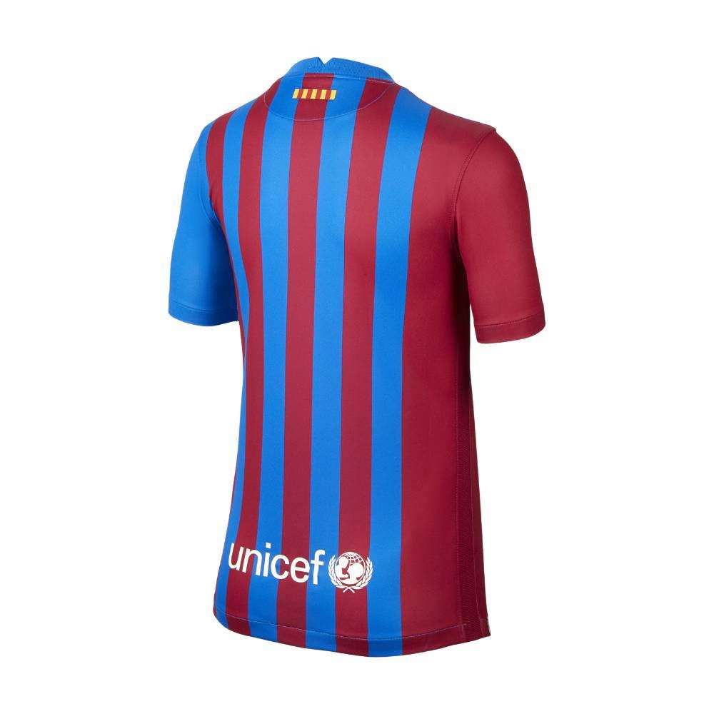 Nike FC Barcelona Fotballdrakt 21/22 Hjemme Barn