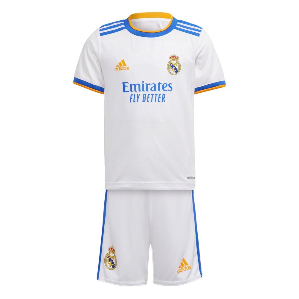 Adidas Real Madrid Draktsett 21/22 Hjemme Barn