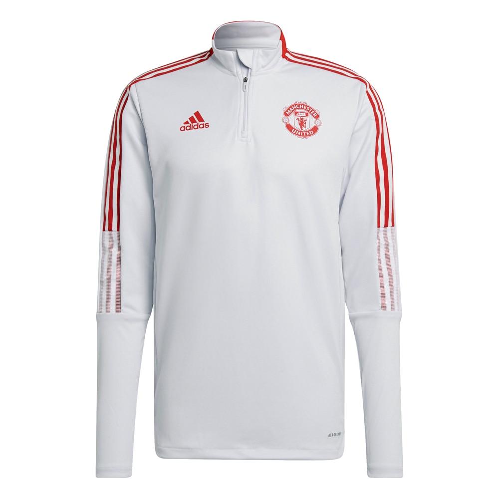 Adidas Manchester United Treningsgenser 21/22 Grå