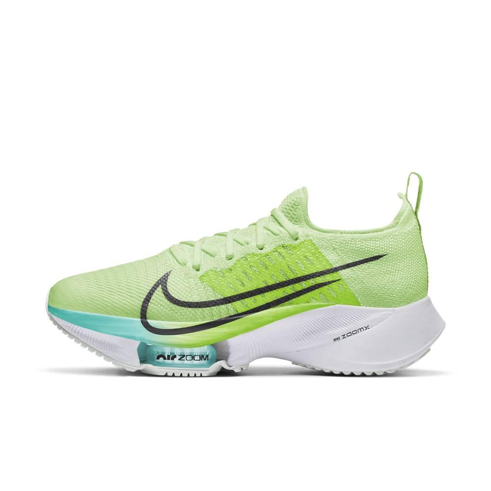 Nike Air Zoom Tempo Next% Flyknit Joggesko Dame Volt