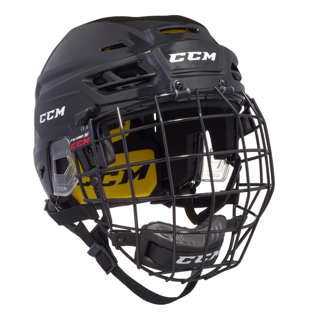 Ccm Tacks 210 Combo Hockeyhjelm Svart