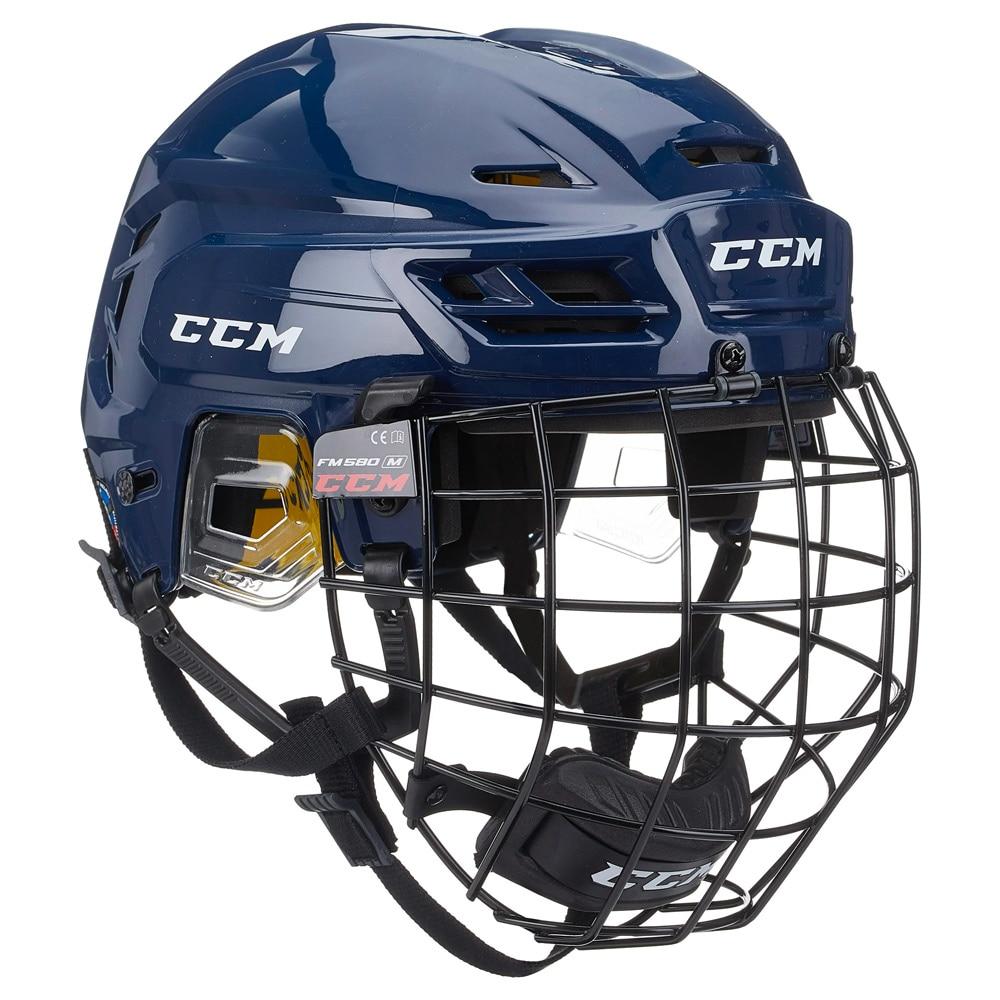 Ccm Tacks 210 Combo Hockeyhjelm Marine