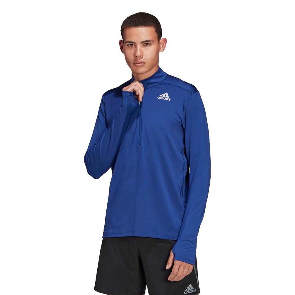 Adidas Own The Run Half-Zip Løpetrøye Herre Blå