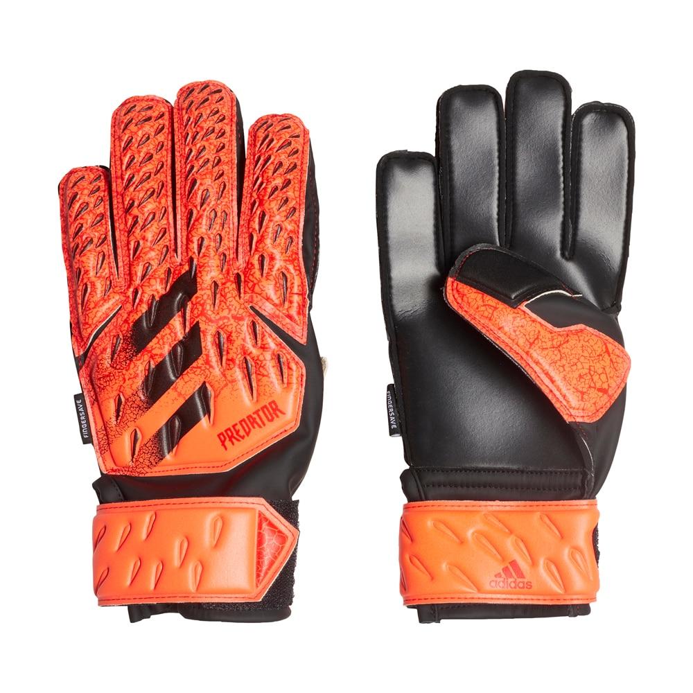 Adidas Predator Match Fingersave Keeperhansker Barn Meteorite Pack