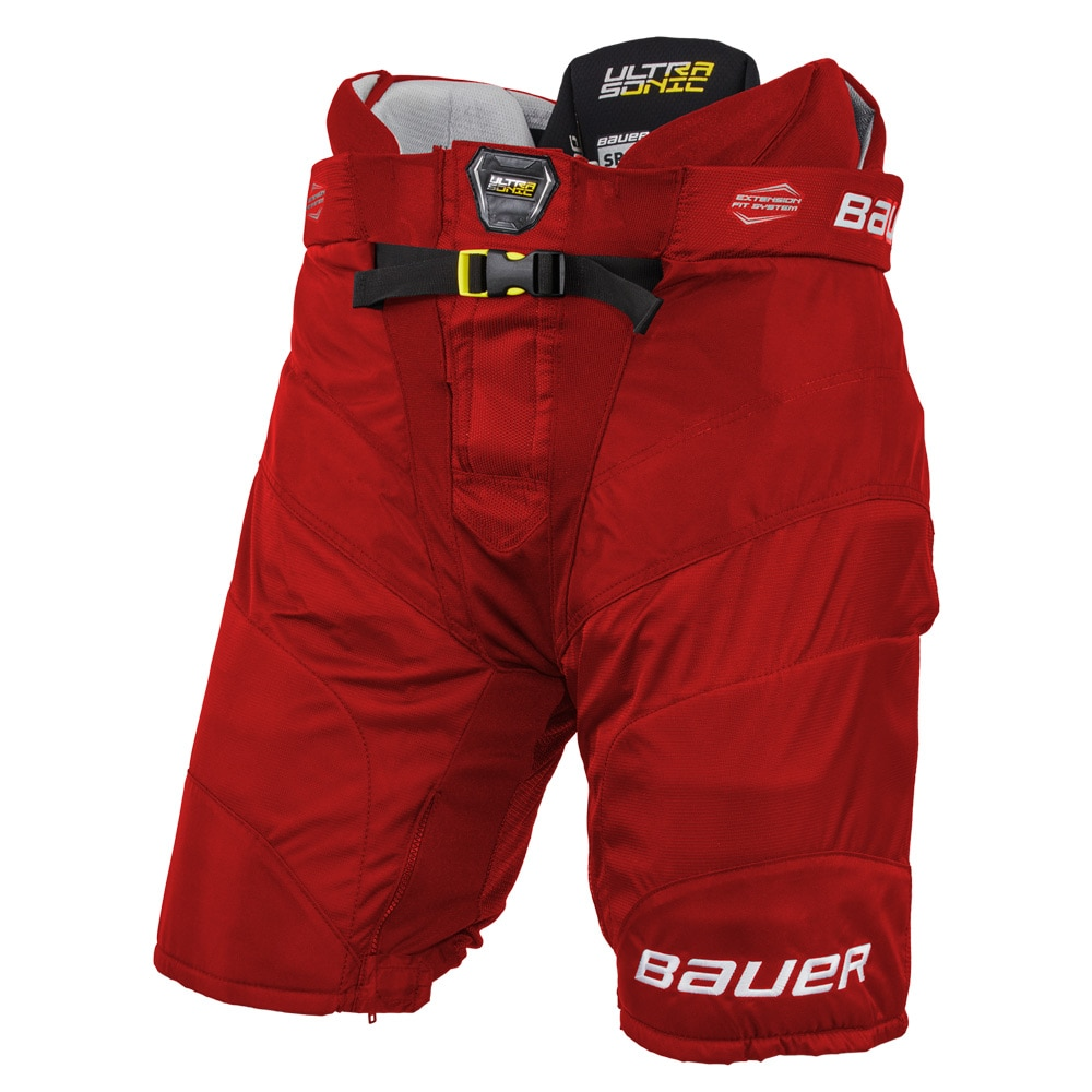 Bauer Supreme Ultrasonic Hockeybukse Rød