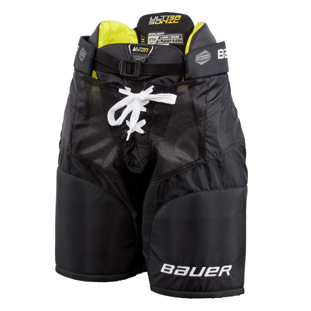 Bauer Supreme Ultrasonic Barn Hockeybukse Svart