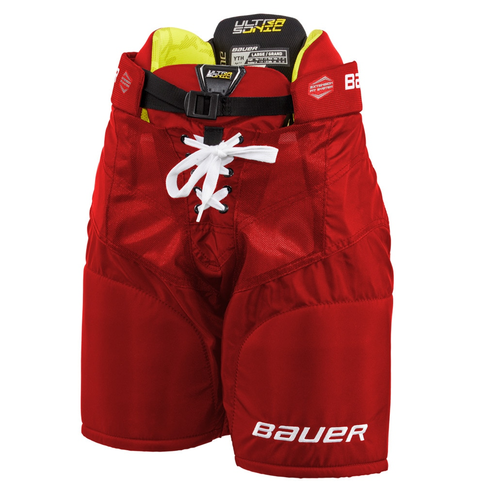 Bauer Supreme Ultrasonic Barn Hockeybukse Rød