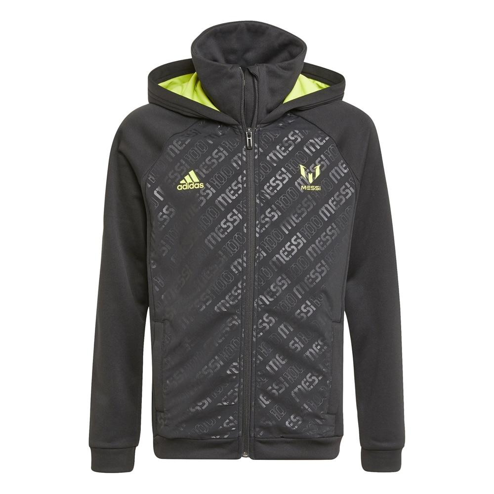 Adidas Messi Hoodie Jakke Sort