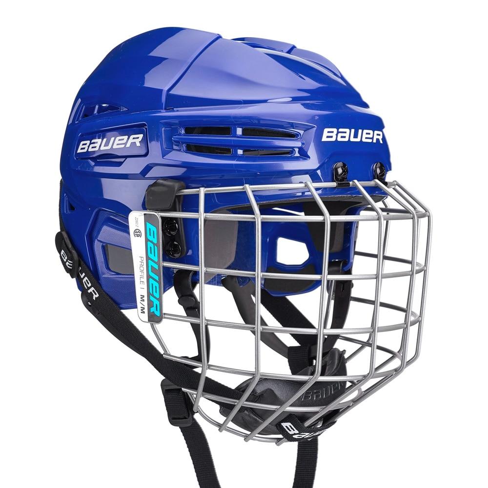 Bauer IMS 5.0 Combo Hockeyhjelm Blå