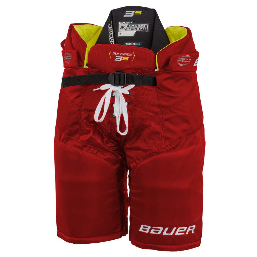 Bauer Supreme 3S Junior Hockeybukse Rød