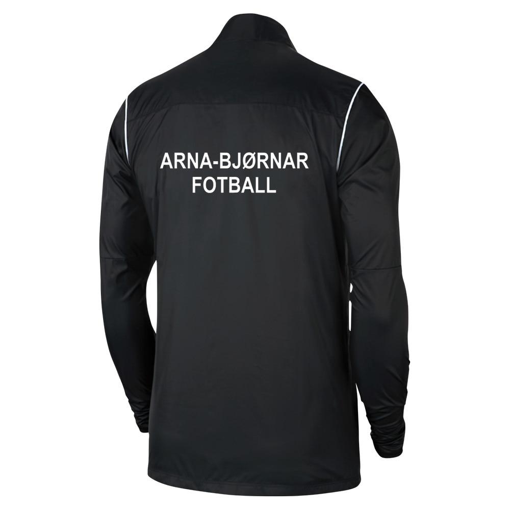 Nike Arna-Bjørnar Regnjakke Sort