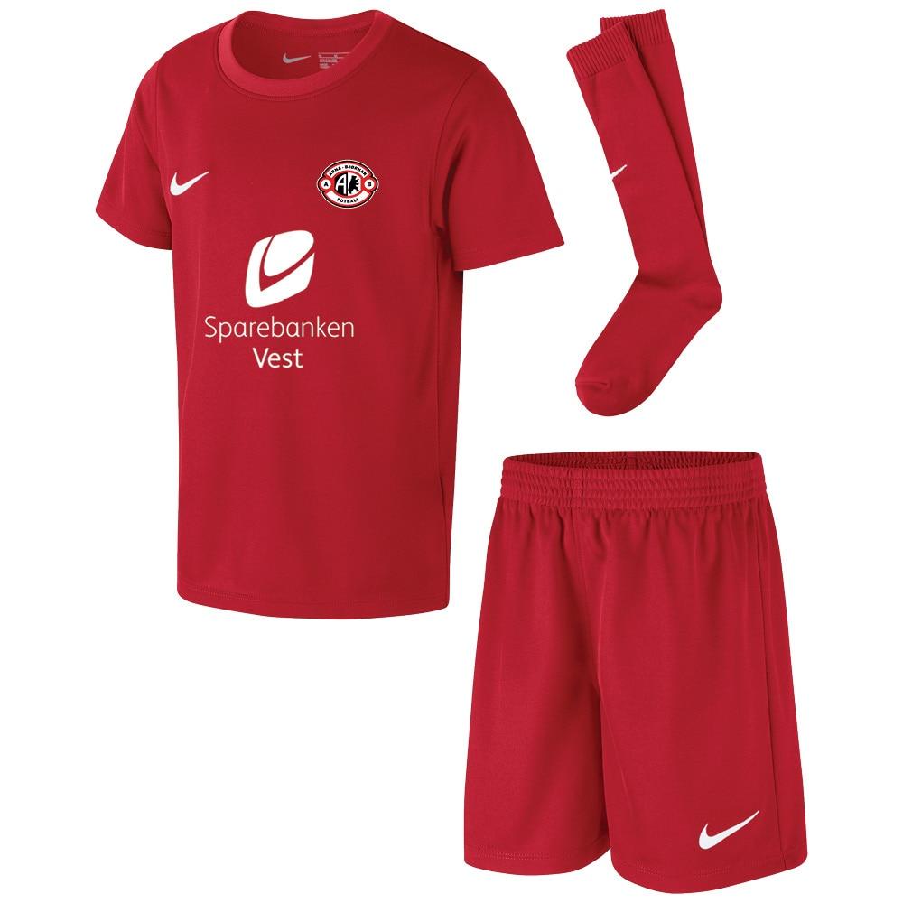 Nike Arna-Bjørnar Draktsett Barn Rød