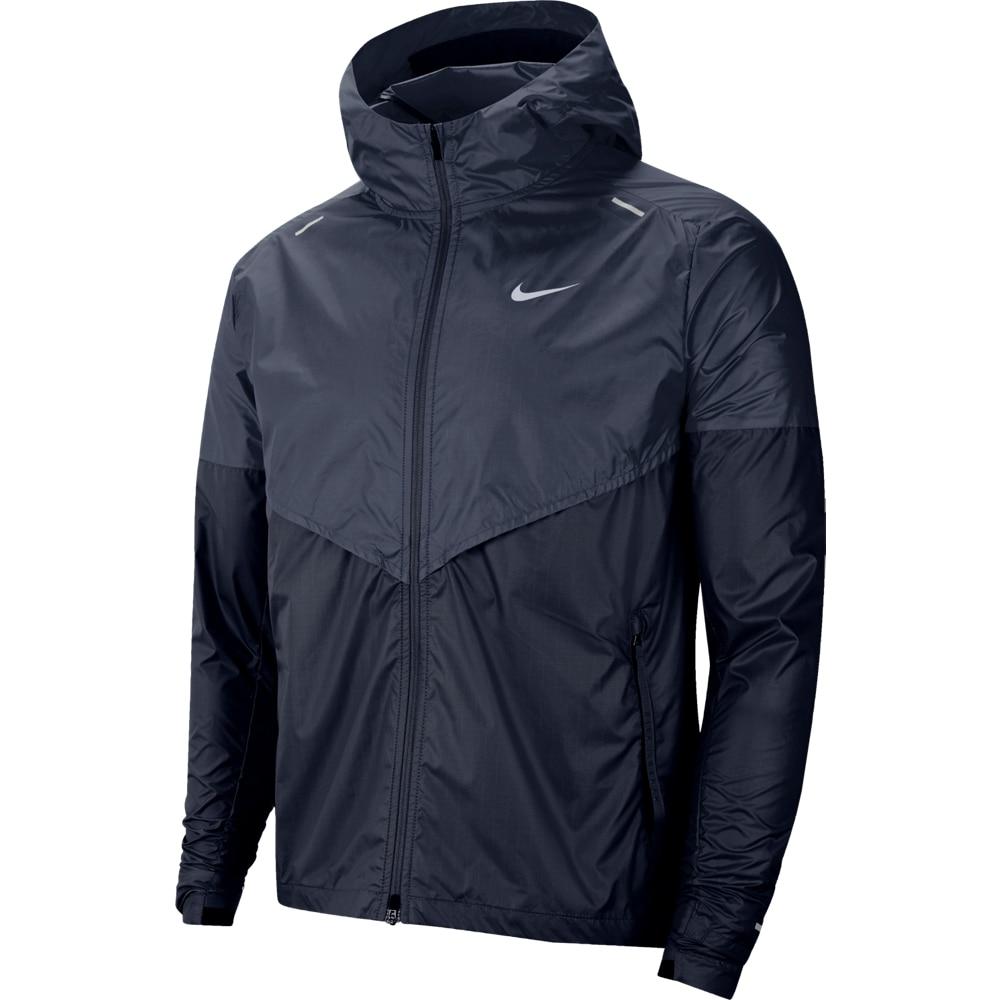 Nike Windrunner Løpejakker Herre Marine
