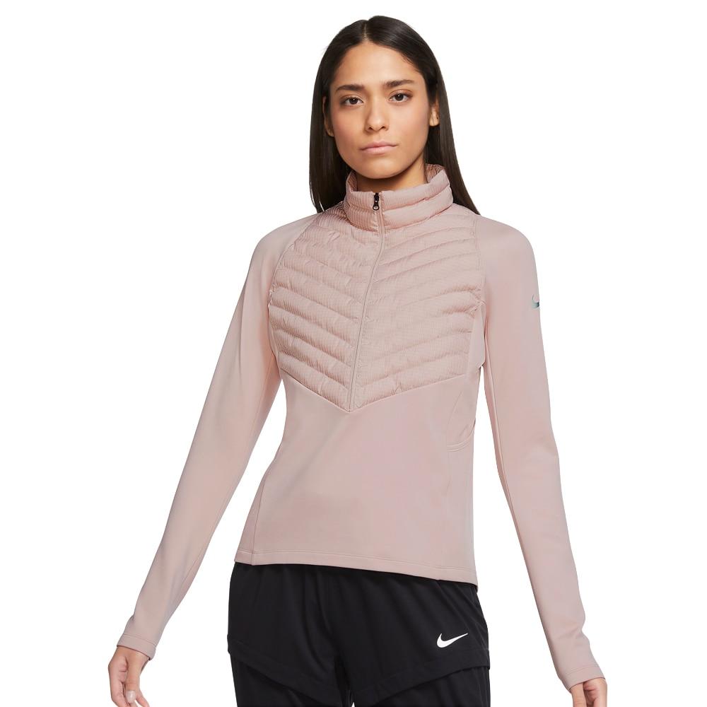 Nike Therma-FIT Run Division Hybrid Jakke Dame Rosa