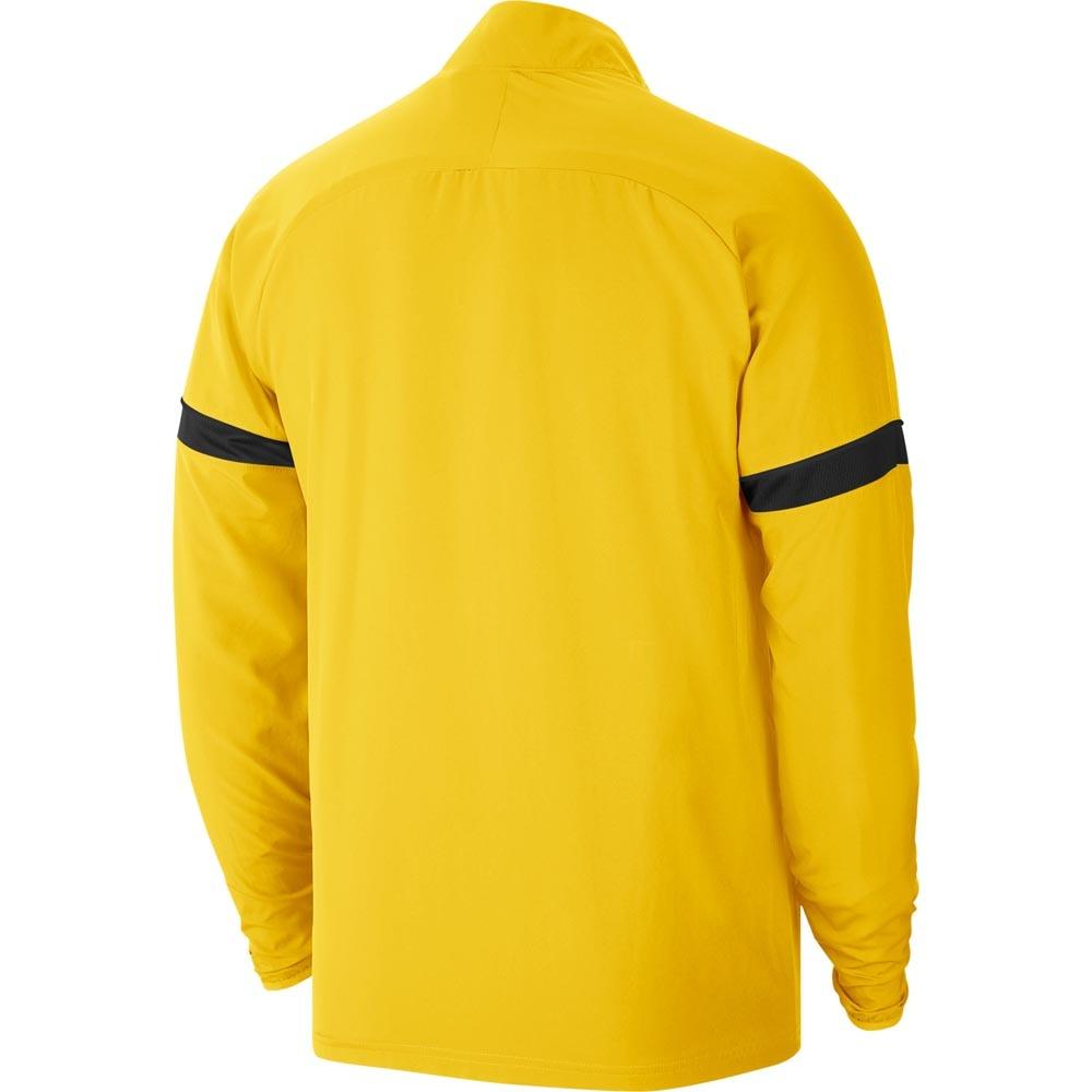 Nike Academy 21 Treningsjakke Woven Gul