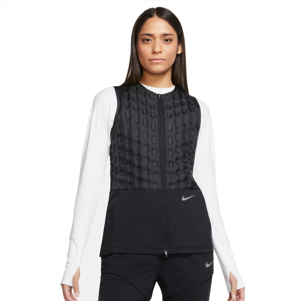 Nike Therma-ADV Vest Dame Sort