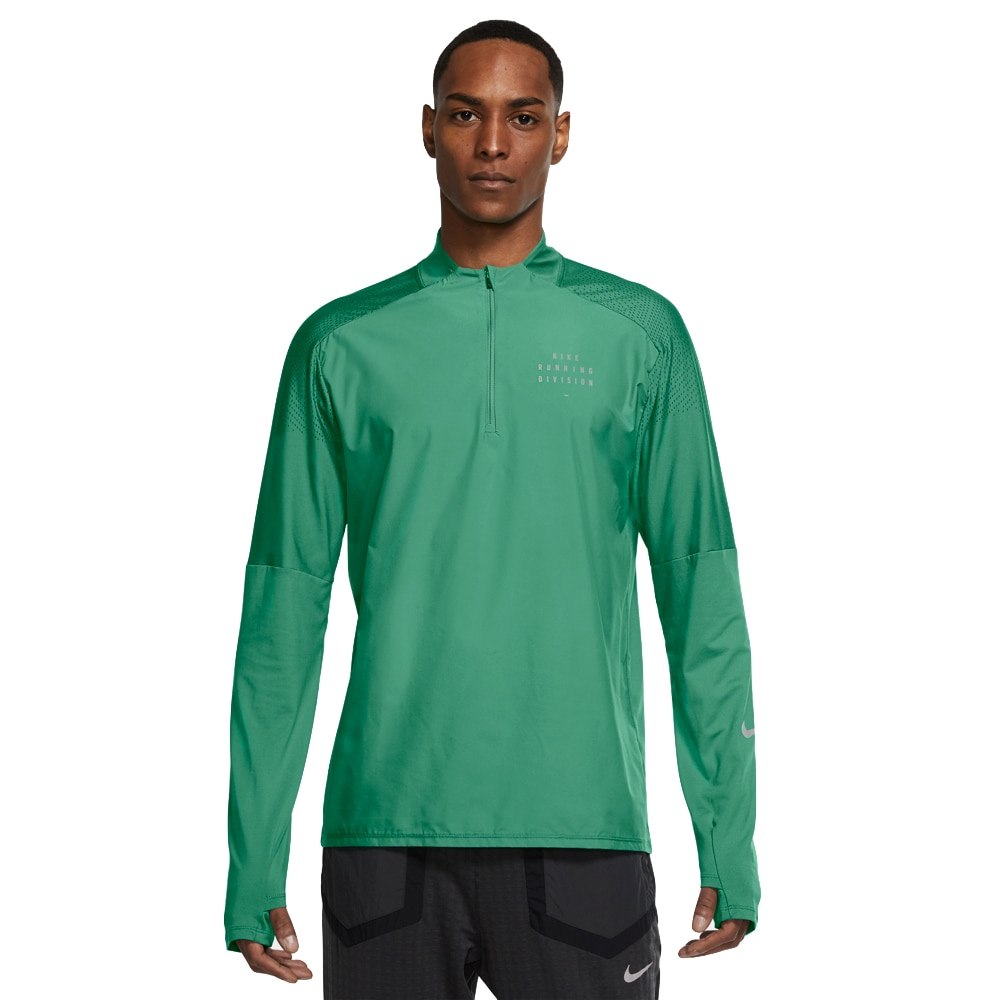 Nike Dri-FIT Run Division Flash Element Treningsgenser Herre Grønn