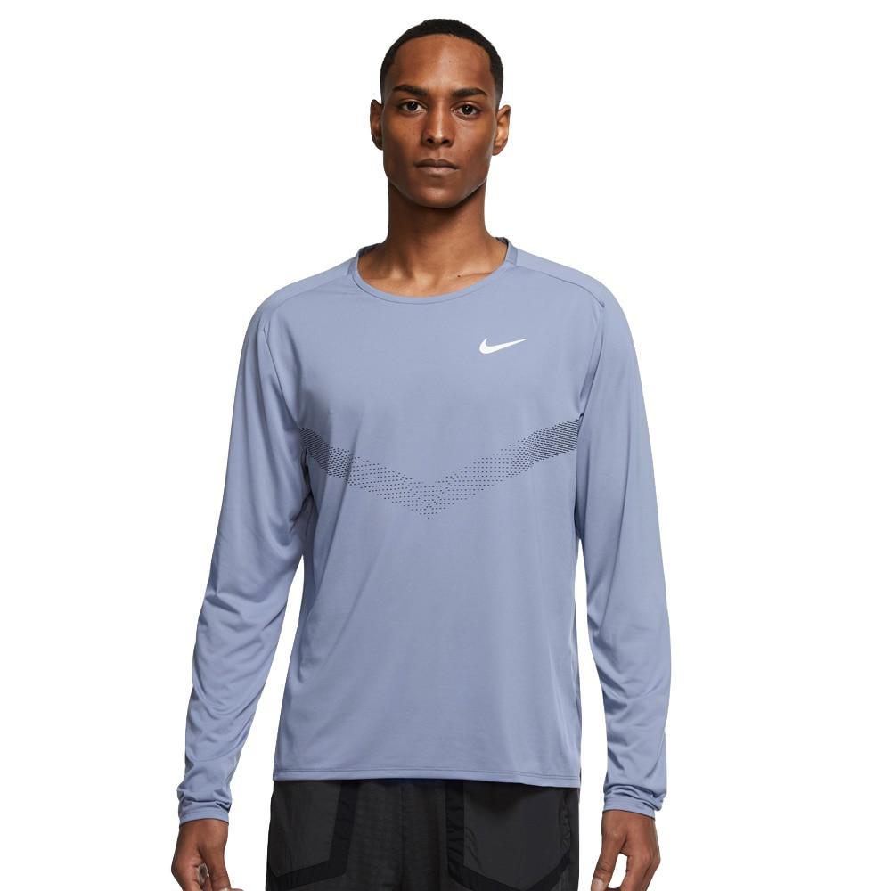 Nike Dri-FIT 365 Langermet Treningstrøye Herre Blå