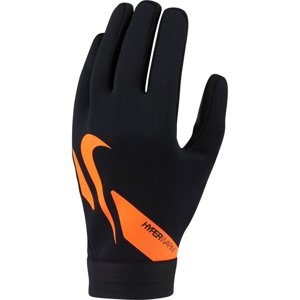 Nike Academy Hyperwarm Treningshanske Sort/Oransje